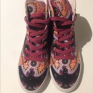 Luis Valle Shoes artist art designer boots size 6